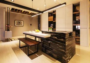 后现代风格大户型精致餐厅吧台设计装修效果图赏析