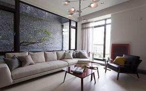 120平米后现代风格简约室内装修效果图案例