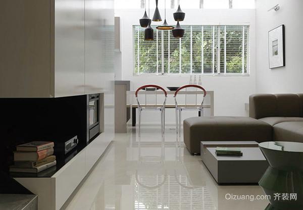 149平米现代简约风格复式楼装修效果图案例