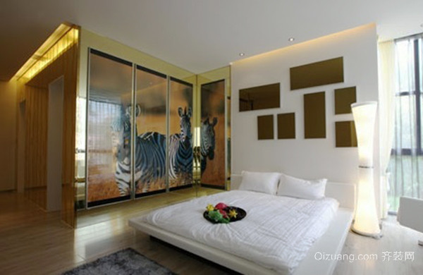 65平米现代简约风格精致公寓装修效果图赏析