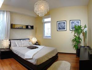 16平米现代简约风格卧室装修效果图赏析