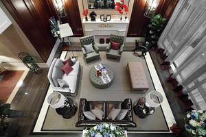 210平米新古典主义风格精致别墅室内装修效果图赏析