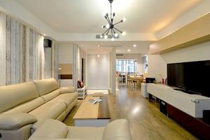 86平米宜家风格简约两室两厅室内装修效果图赏析