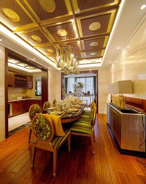 155平米中西混搭风格精致大户型室内装修效果图赏析