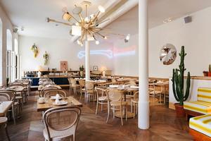 90平米宜家风格简约餐厅设计装修效果图