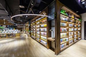 180平米现代风格大型书店设计装修效果图赏析