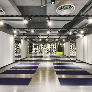 100平米现代风格精致瑜伽馆设计装修效果图赏析
