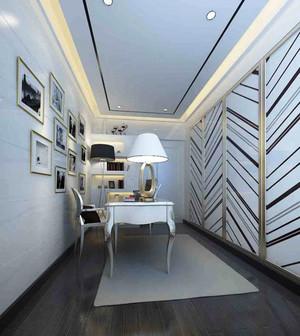 16平米现代简约风格书房设计装修效果图赏析