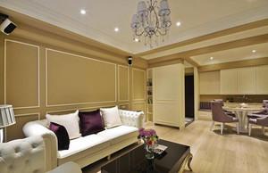 170平米浪漫美式风格室内大户型装修效果图赏析