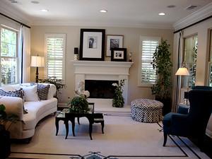 300平米美式风格精致别墅室内装修效果图赏析