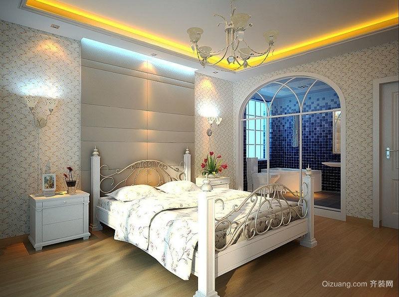 90平米欧式田园风格简装室内装修效果图赏析