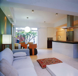 188平米现代简约风格复式楼室内装修效果图赏析
