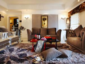 144平米新古典主义风格精致两室两厅室内装修效果图案例
