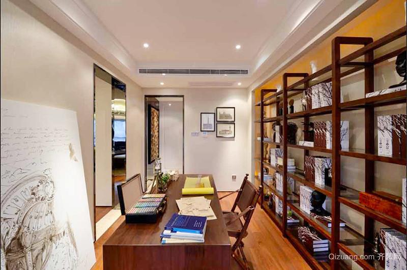 158平米新中式风格精致大户型室内装修效果图赏析