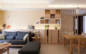 78平米宜家风格两室一厅室内装修效果图案例