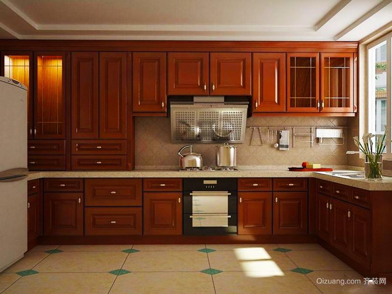 108平米中式风格古典雅韵两室两厅室内装修效果图赏析