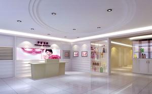 现代简约风格美容院前台设计装修效果图赏析