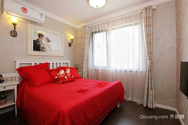 85平米地中海风格时尚混搭两室两厅室内装修效果图