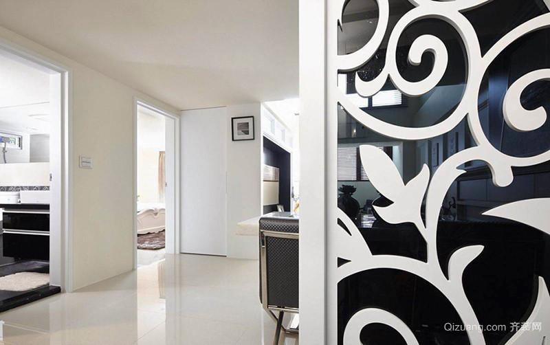 76平米现代简约风格两室一厅装修效果图赏析