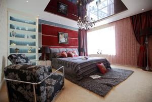 现代简约风格卧室吊顶设计装修效果图赏析