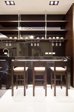 后现代风格精致餐厅吧台设计装修效果图赏析
