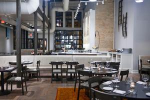 130平米新中式风格中餐厅设计装修效果图赏析