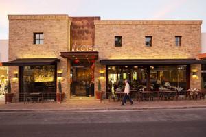 复古风格文艺户外咖啡厅装修效果图赏析