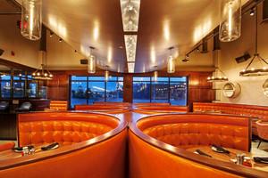 欧式风格时尚创意咖啡厅沙发装修效果图