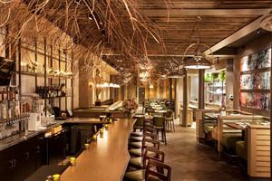 110平米乡村风格酒吧设计装修效果图