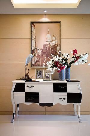 时尚靓丽混搭风格三室两厅室内装修效果图赏析