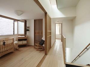 106平米简约风格小复式楼装修效果图赏析