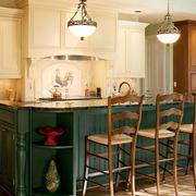 欧式风格大户型精致开放式厨房装修效果图赏析