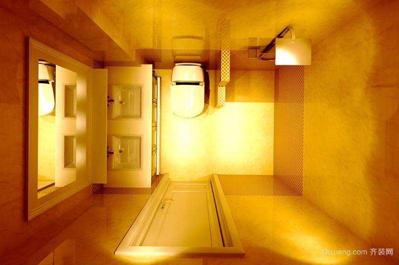 90平米田园风格温馨暖色系室内装修效果图赏析
