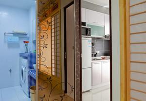62平米日式风格简约小公寓设计装修效果图赏析