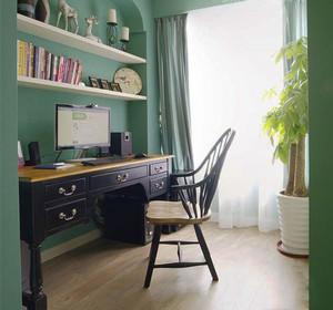清新风格舒适书房设计装修效果图赏析