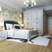 现代简约风格温馨卧室背景墙装修效果图赏析