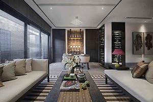 152平米新古典主义风格大户型室内装修效果图赏析
