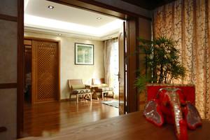 300平米异域风情东南亚风格别墅室内装修效果图案例