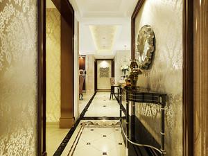 157平米欧式风格古典大户型室内装修效果图赏析