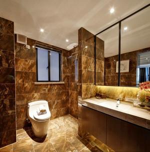 欧式风格精致卫生间瓷砖设计装修效果图赏析
