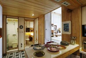 73平米日式风格loft装修效果图赏析