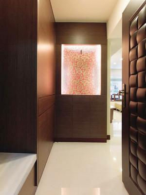 91平米现代风格精装三室两厅室内装修效果图赏析