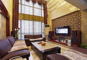 中美混搭风格精致复式楼室内装修效果图赏析