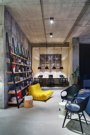 后现代风格办公室休息室装修效果图赏析