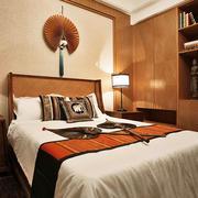 东南亚风格禅意雅致卧室装修效果图赏析