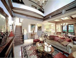 315平米美式风格精致别墅室内装修效果图赏析