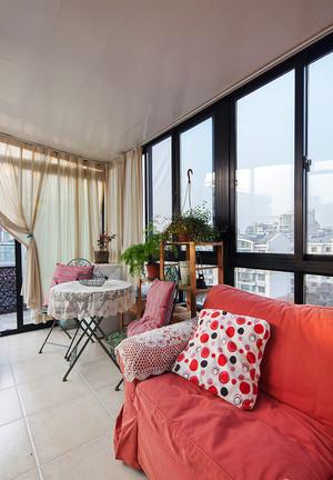 96平米美式混搭风格精致两室两厅装修效果图案例