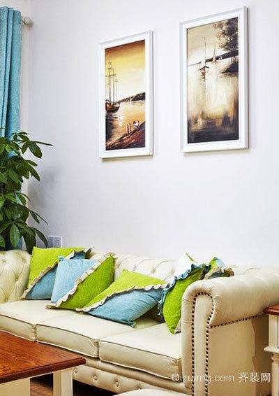 120平米美式田园风格自然室内装修效果图案例