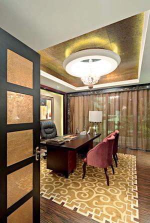 400平米欧式风格精致奢华别墅室内装修效果图案例