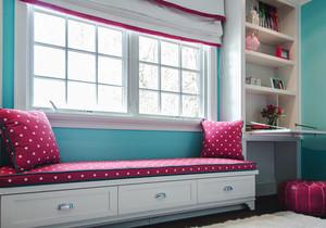 欧式风格大户型室内精美飘窗设计效果图